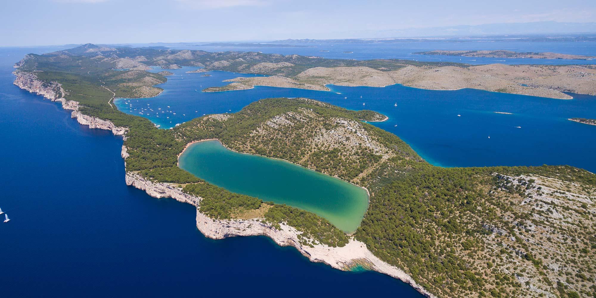 Segelroute von Zadar