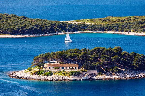 Itinerari nautici Trogir Kastela Split