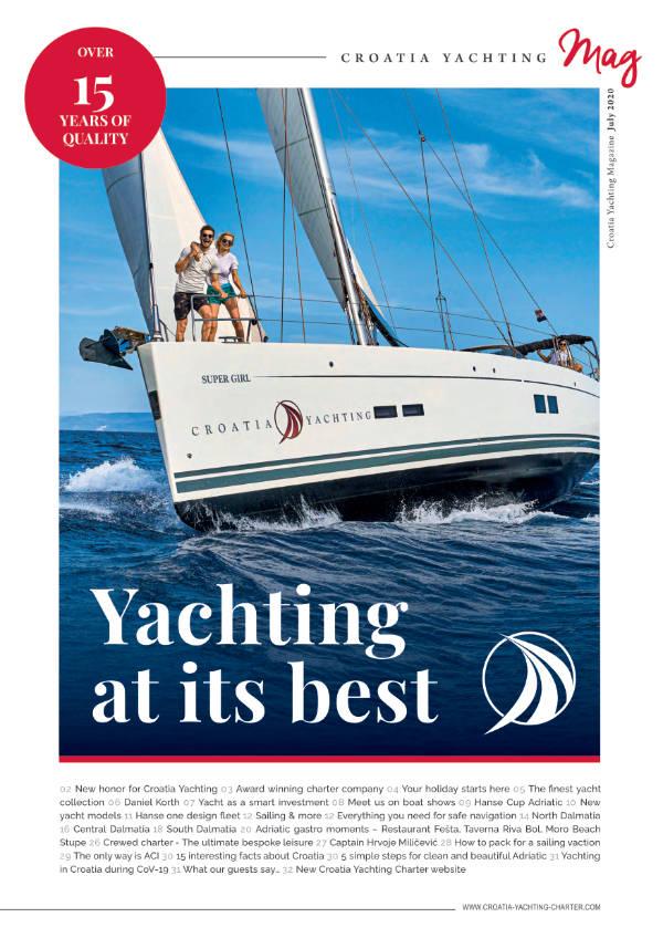 Croatia Yachting Rivista July 2020