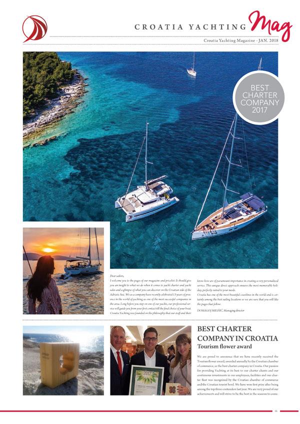 Croatia Yachting Rivista January 2018