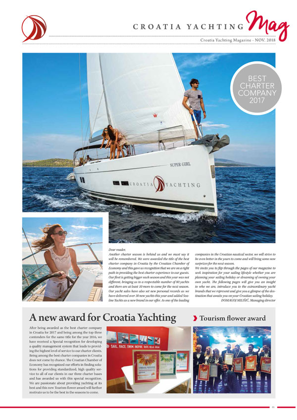 Croatia Yachting Rivista November 2018