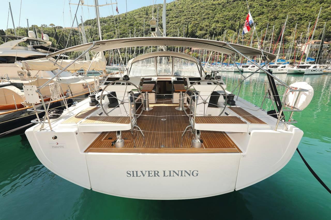 Hanse 548 Silver Lining