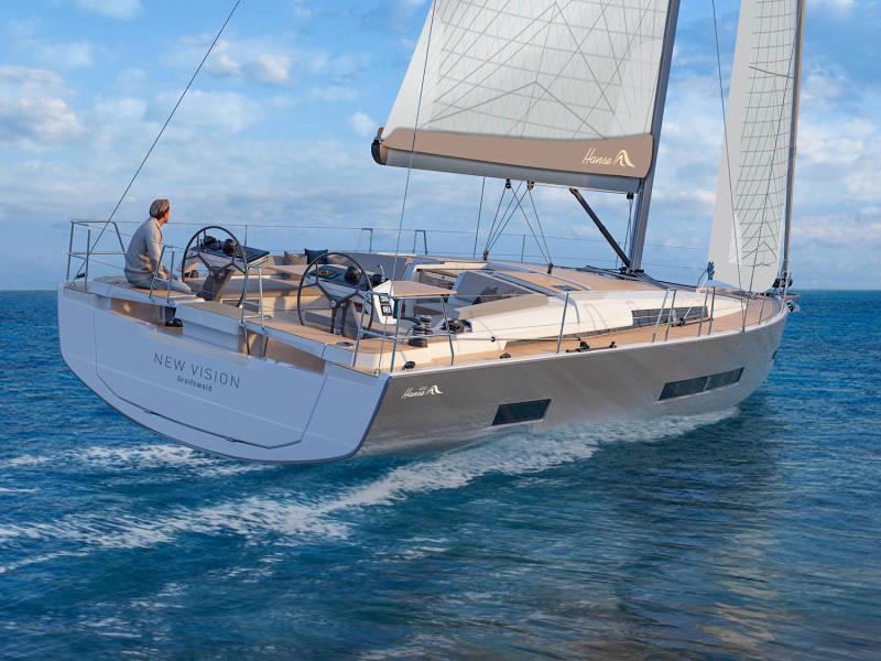 Hanse 460  | No Name1 - Owner's