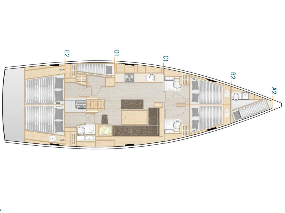 Hanse 508  | License to Chill